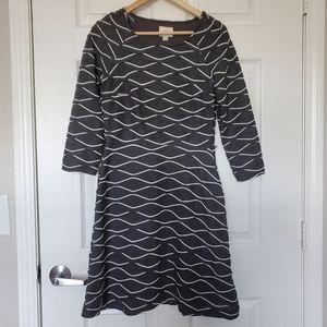 Eci 3/4 Sleeve Dress